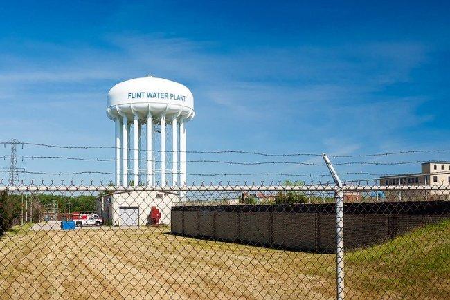 Flint Water Crisis - showing Flint Water Plant