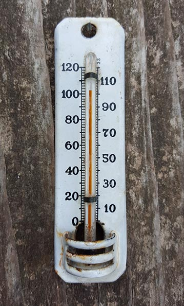 old thermometer