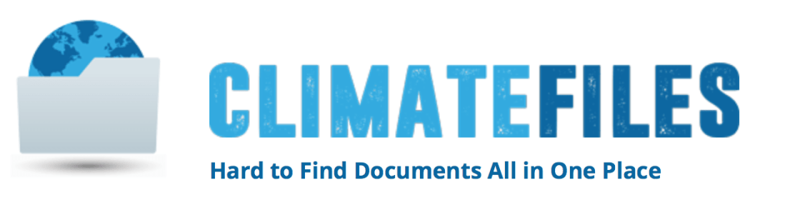 Climate Files, Climate Change, Climate Denial