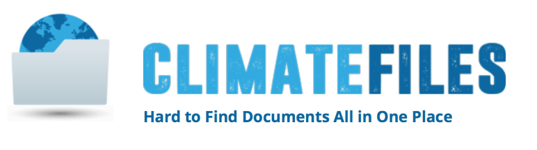 Climate Files, Climate Denial, Climate Change