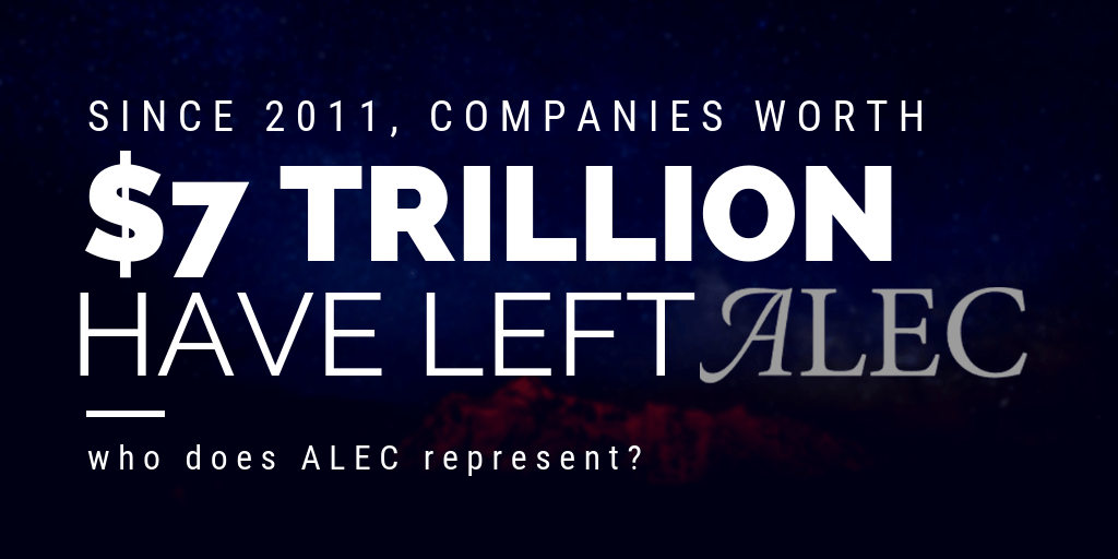 ALEC, american legislative exchange council
