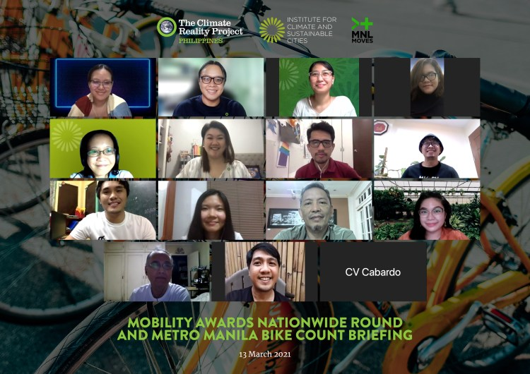 Mobility Awards Nationwide Round and Metro Manila Bike Count Briefing