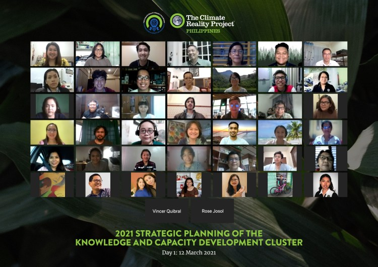 2021 Strategic Planning of the Knowledge and Capacity Development Cluster