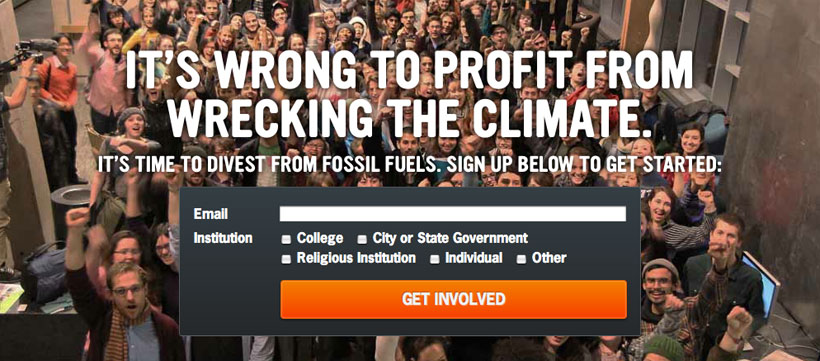 Click to go to gofossilfree.org