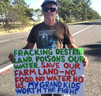 Tony, the activist