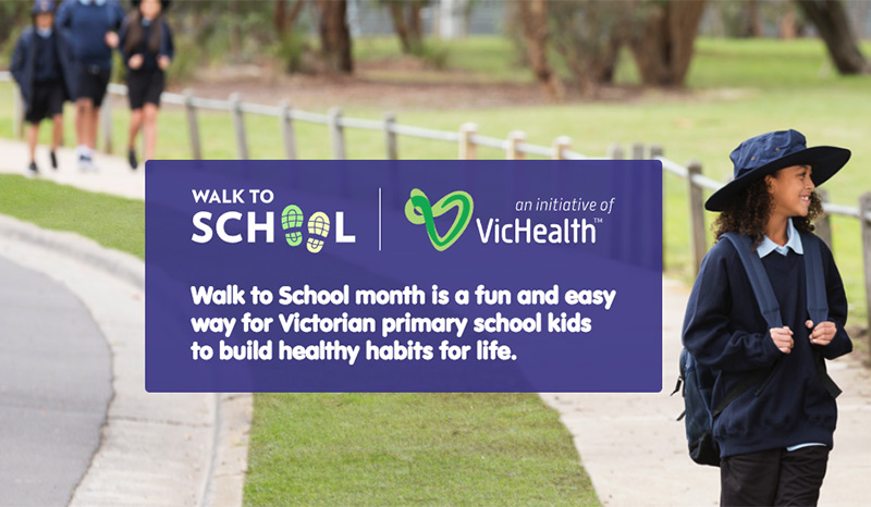 Walk to School campaign in October