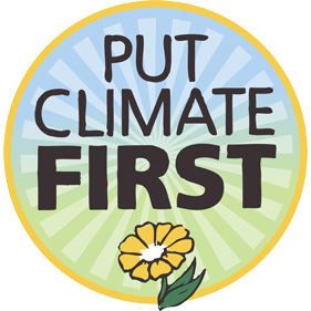 Put climate first
