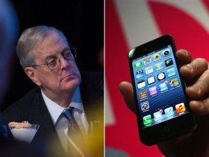 Koch Industries, the holding firm for David Koch and his brother, will buy Molex, which sells interconnection systems to automakers, mobile-phone companies and military customers. That includes Apple, which uses some Molex connectors for the iPhone 5, the top-selling smartphone. Source