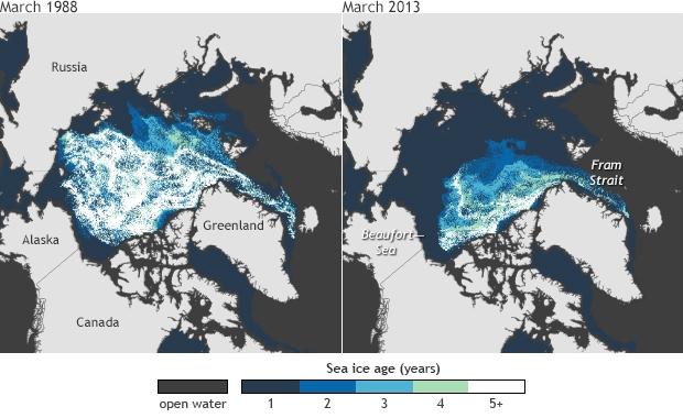 Sea Ice Age_ARC_March 1988-2013