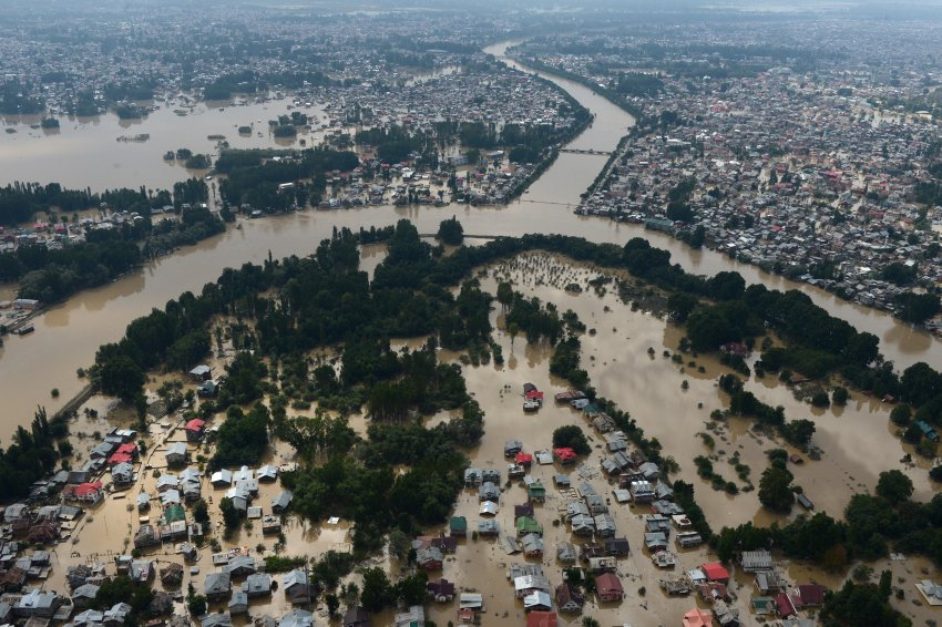 INDIA-KASHMIR-FLOOD-WEATHER-FILES