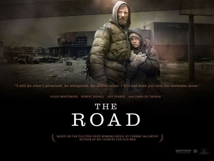 The Road is a 2009 American post-apocalyptic drama film directed by John Hillcoat from a screenplay written by Joe Penhall, based on the Pulitzer Prize-winning 2006 novel of the same name by American author Cormac McCarthy.