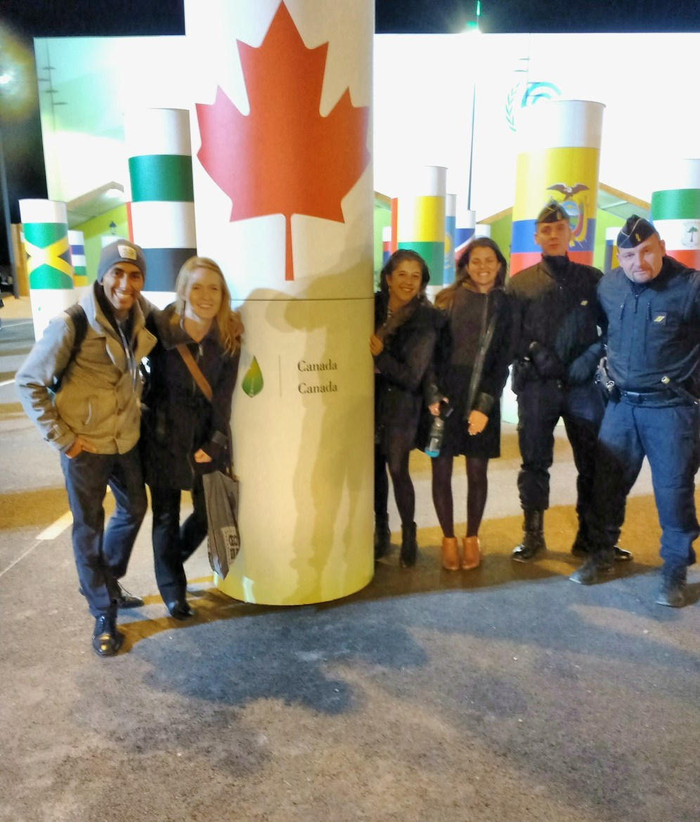Guards just wanna have fun (and they all loved Canada!)