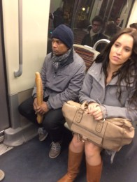 WE KNEW IT! People really do carry bread around Paris - now we're tired AND hungry!