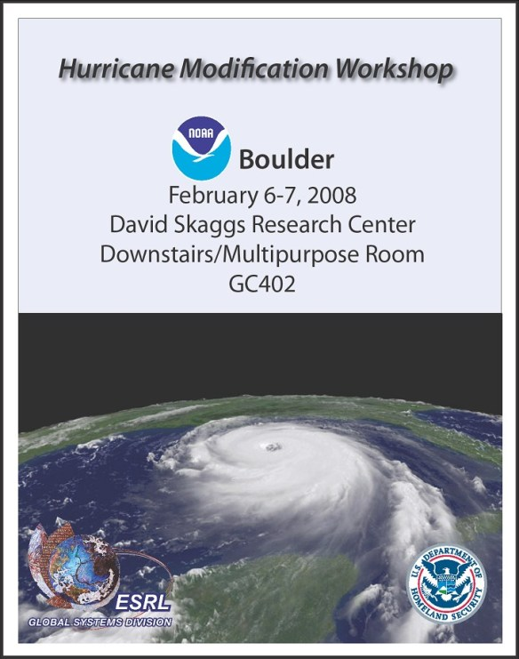 department-of-homeland-security-and-noaa-hurricane-modification-workshop-report-2008-logo