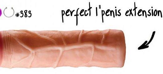 Dit is een afbeelding van penis extension sleeve