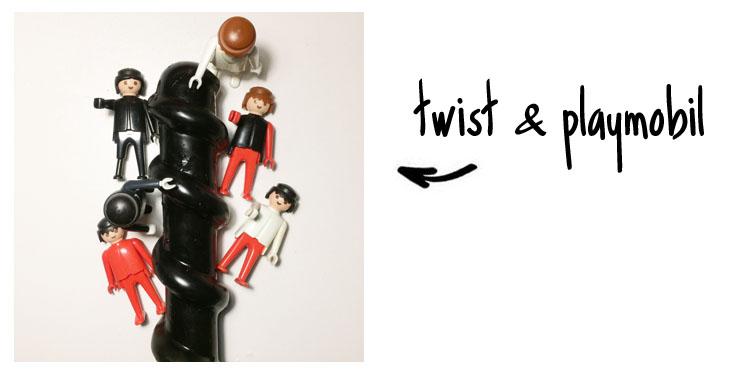 Dit is een afbeelding van twist en playmobil mighty screw dildo