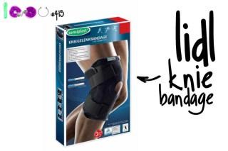 Dit is een afbeelding van lidl knie bandage