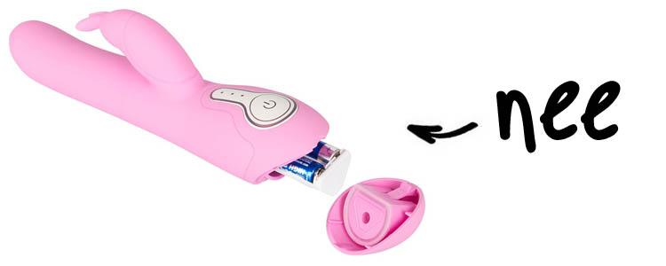 Dit is een afbeelding van biofeedback sextoy joymatic rabbit vibrator