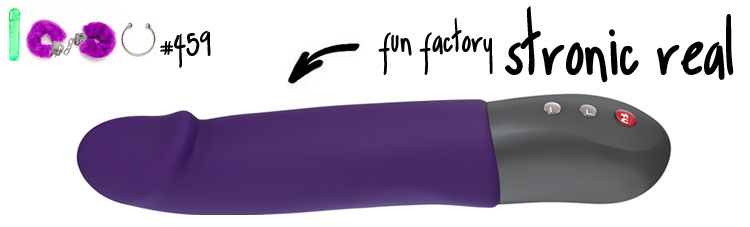 Dit is een afbeelding van fun factory stronic real vibrator pulsator review