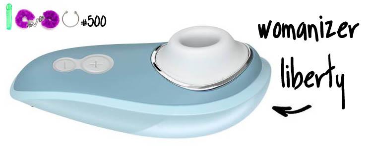 Dit is een afbeelding van womanizer liberty review test vibrator sextoy