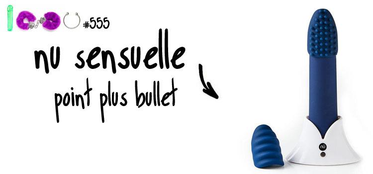 Dit is een afbeelding van nu sensuelle point plus bullet vibrator review