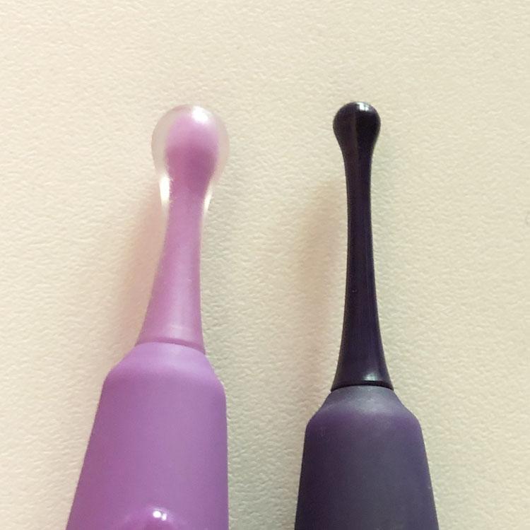 Dit is een afbeelding van puntje van de zumio 1 en 2 vibrator