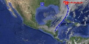 Alta presión y frente frío dominan la región.