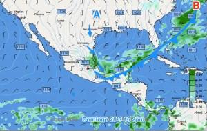 Nuevo frente frío llegará a Yucatán y norte de C.A.