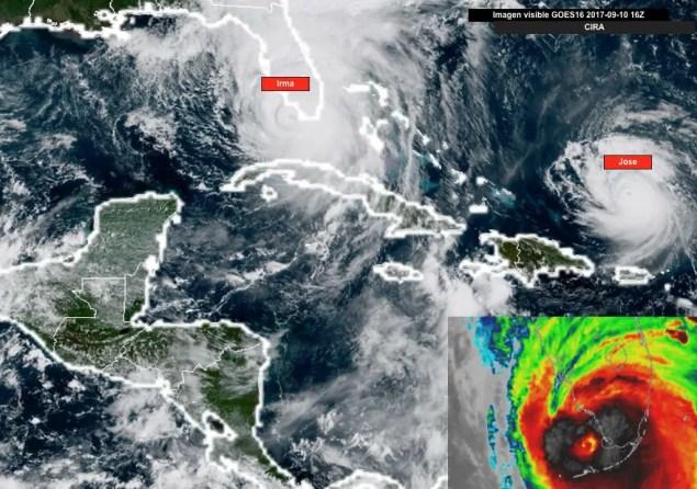 Situación Actual del Caribe. domingo 10am (UTC-6)