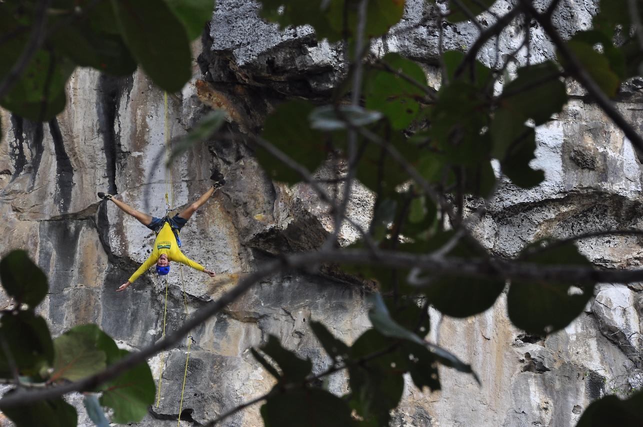 Cayman Brac Yoga Climber