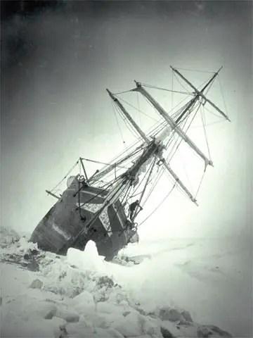 Ernest Shackleton, Shackleton's Antarctic Journey, Endurance