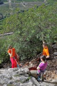 Szkolenie z przewiązywania się w stanowisku, Gandia, Hiszpania