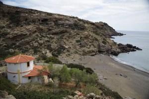 Plaża w Agios Ioanis