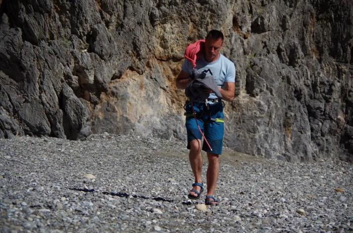 Powrót ze wspinania, Kreta, Agiofaragio