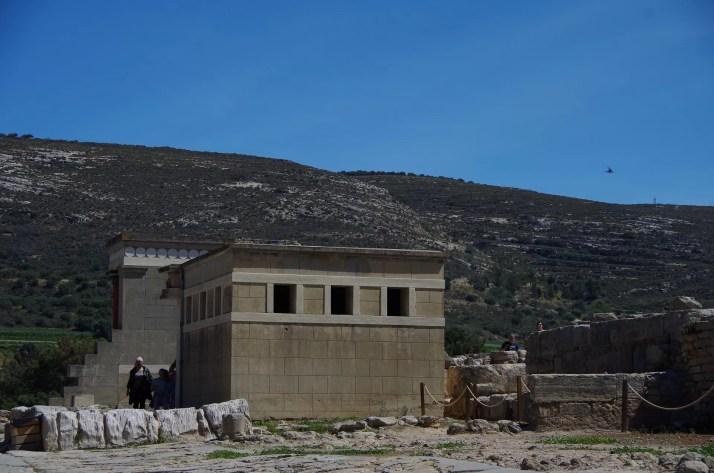 zwiedzanie ruin pałacu Knossos na Krecie