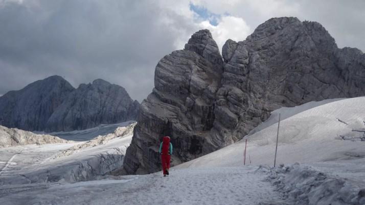 Dachsten to masyw w Austrii, w którym jest wieczny lodowiec