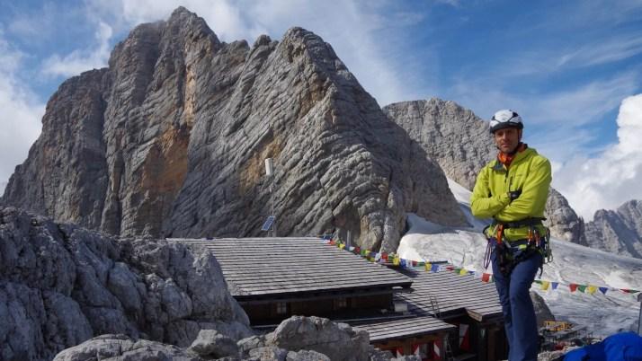 Dachstein ma wysokość 2995 m. Na szczyt można wejść ferratą!
