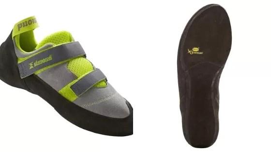 Przykład butów wspinaczkowych dla osób początkujących