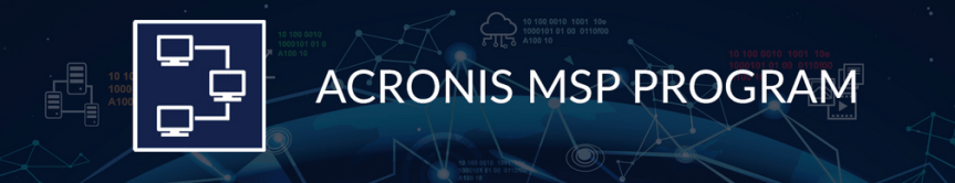 Acronis MSP program
