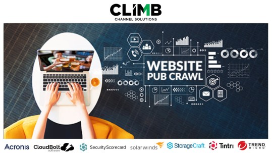 Website Pub Crawl Banner with logos