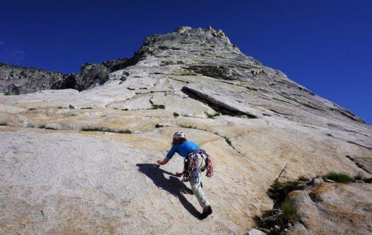 Tenaya Peak, NW Buttress (5.5)