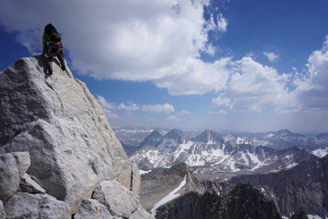 Bear Creek Spire Summit Boulder Problem