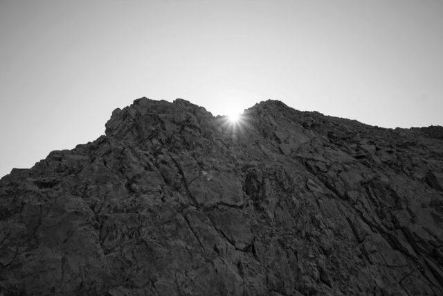 Borah Peak Sun Rays