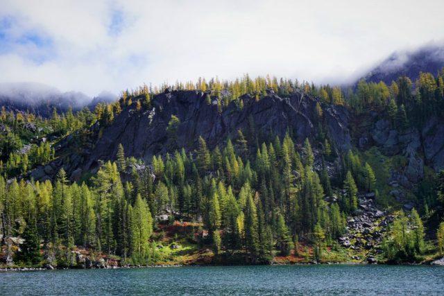 Larch Lake views