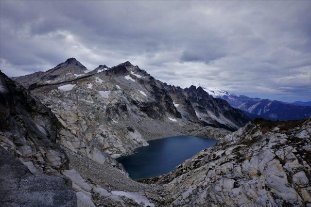 Traid Lake at High Pass