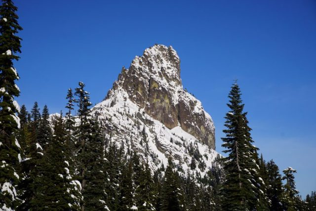 Cathedral Rock from PCT