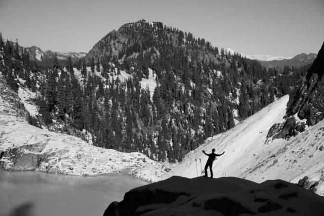 Logan Above Chair Peak Lake