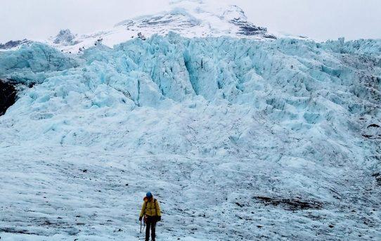 Coleman Seracs Ice Climbing