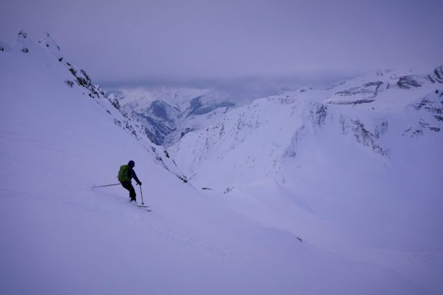 Youngs Headwall Descent