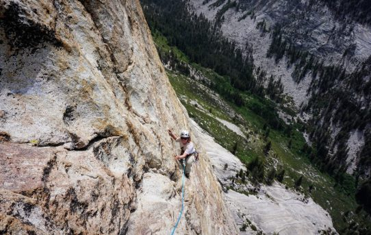 Charlotte Dome, South Face (5.8)